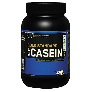 Optimum Nutrition 100 Casein Protein powder