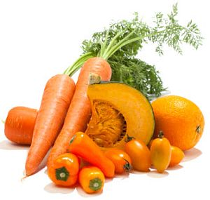 veggies and fruits  rich in beta carotene- what it is all about