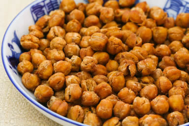 Roasted chickpeas Cricket World Cup 2015-Healthy Snack And Drink Ideas