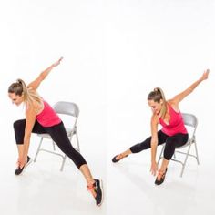 Skater switch- Burn Calories With Chair Cardio Exercises