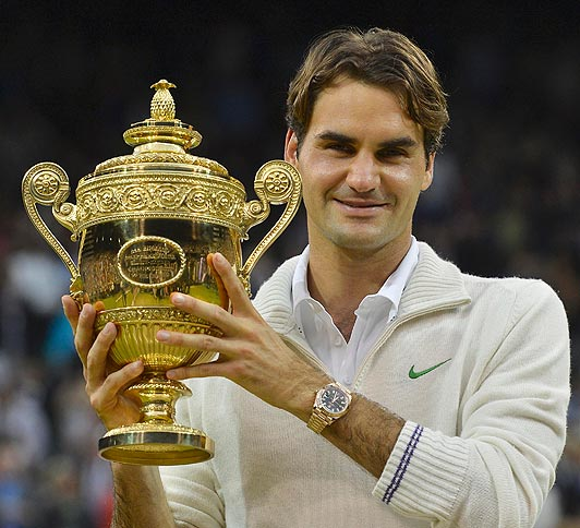 Roger Federer's Diet And Fitness Secrets