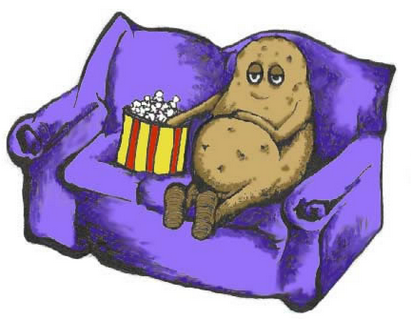 Couch potato-How Lack Of Exercise Affects Your Body 1