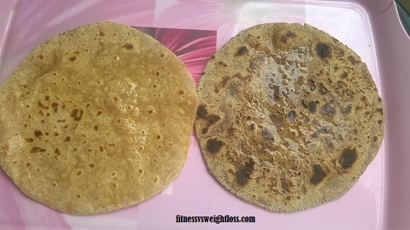 multi grain lower carb roti