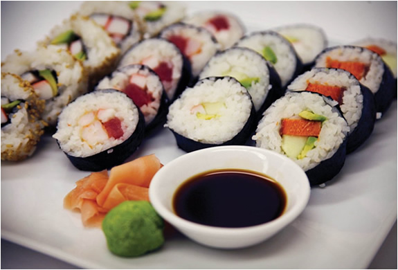 How healthy is sushi