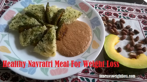 healthy navratri meal for weight loss