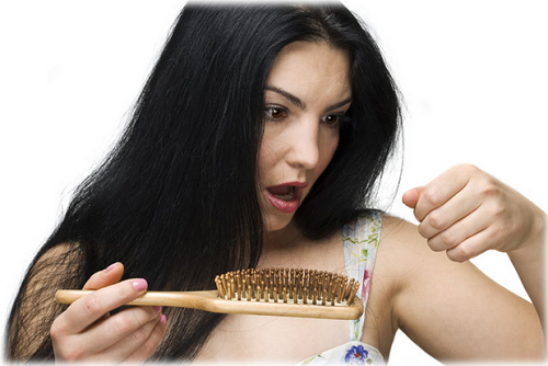 woman hair fall-Is Your Hair Not Growing