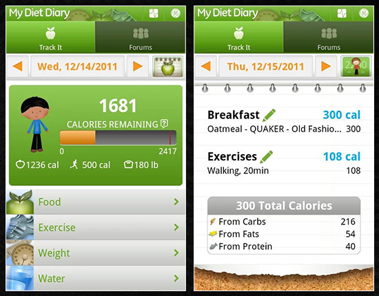 My-Diet-Diary-Calorie-Counter weight loss apps
