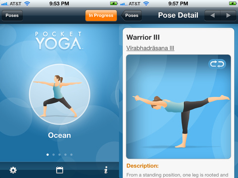 pocket yoga app, Yoga Apps