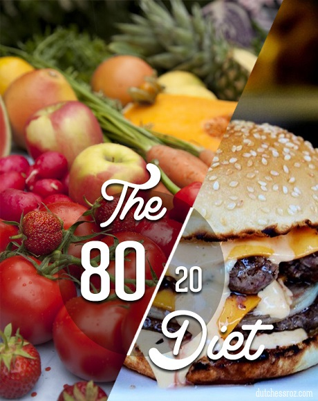 80-20 diet rule, Latest Dieting Trend