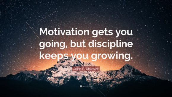 Self discipline or Motivation