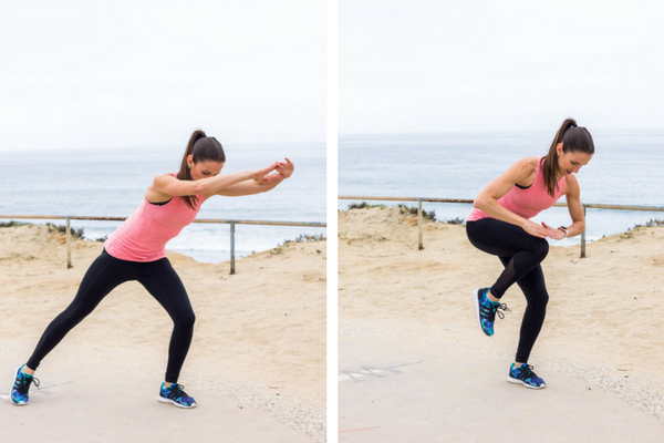 Home workout Plyo Power Knees