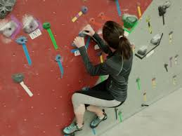 Bouldering new fitness trend