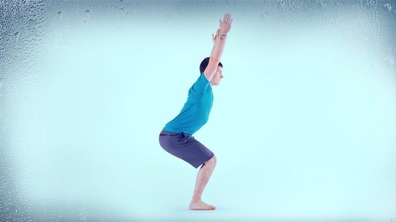 Yoga poses for busy men