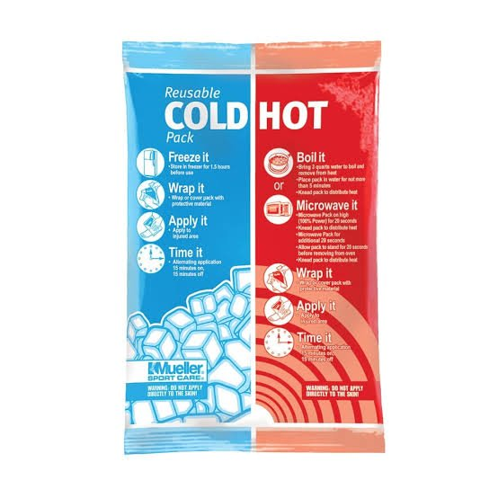 Hot and cold therapy packs